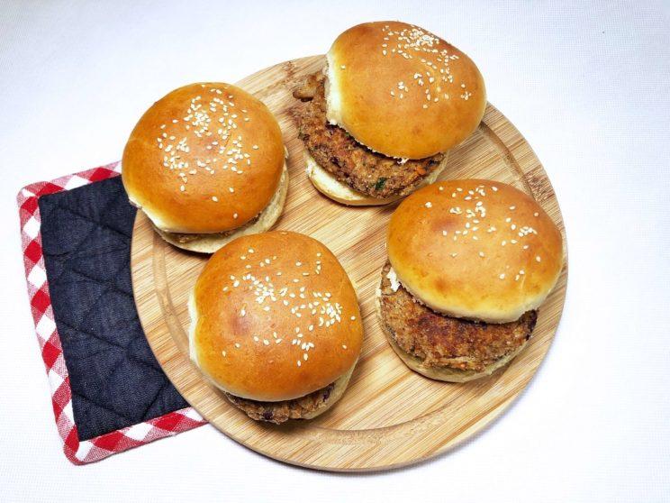 plan posiłków na tydzień wege burgery