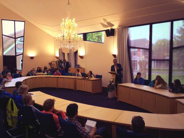 Wethouder Alberts opent jeugdpartcipatie http://t….