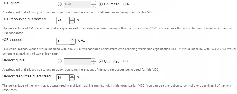 Using CPU limits in vCloud for NFV - NielsHagoort com
