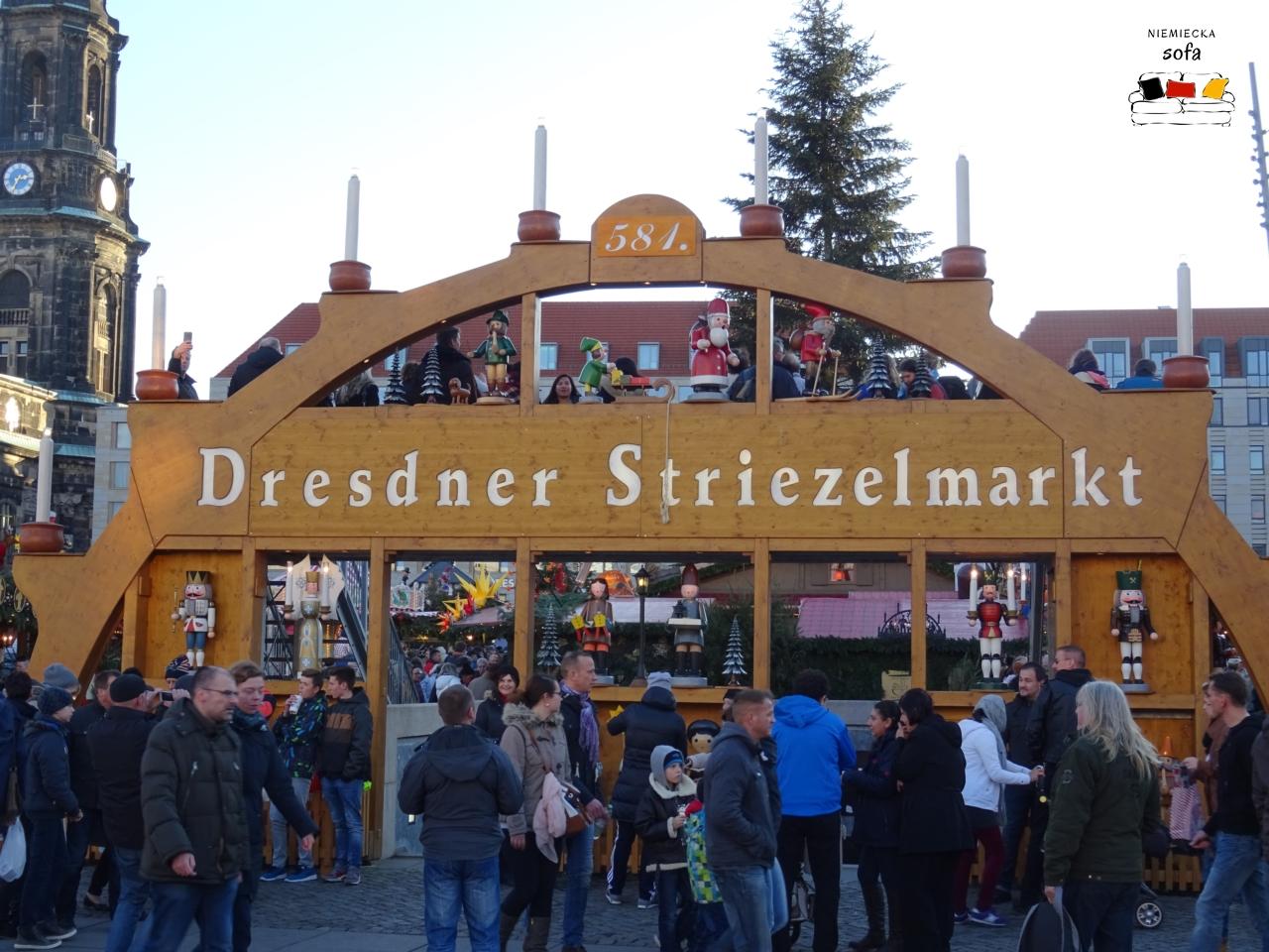 Mikołajki w Dreźnie – Striezelmarkt