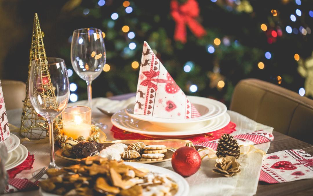 Świąteczne jedzenie na niemieckich stołach