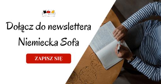 dołącz do newslettera niemiecka sofa