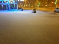 snow outside Universeum