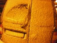 Snowy van!