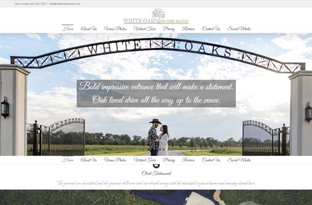 White Oaks Events – Wedding Venue