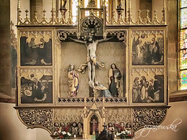 Główny ołtarz św. Krzyża z ok. 1500 r.