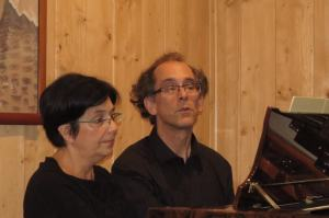 Marzena Kasprzak i Bernard Godeaux