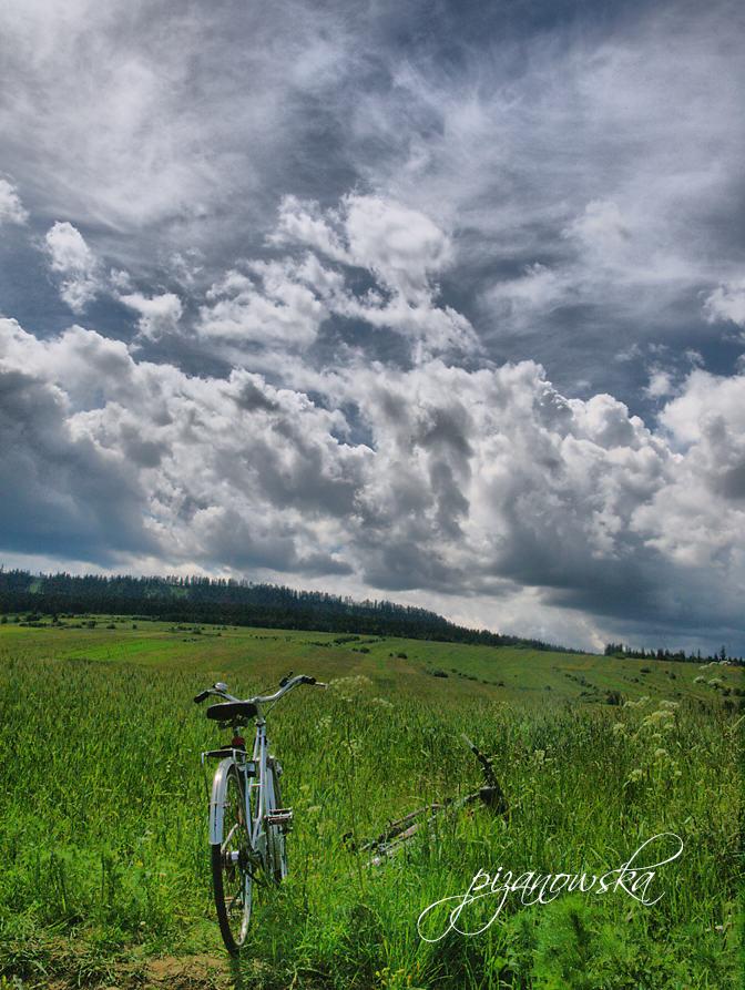 Rowerem przez Frydman