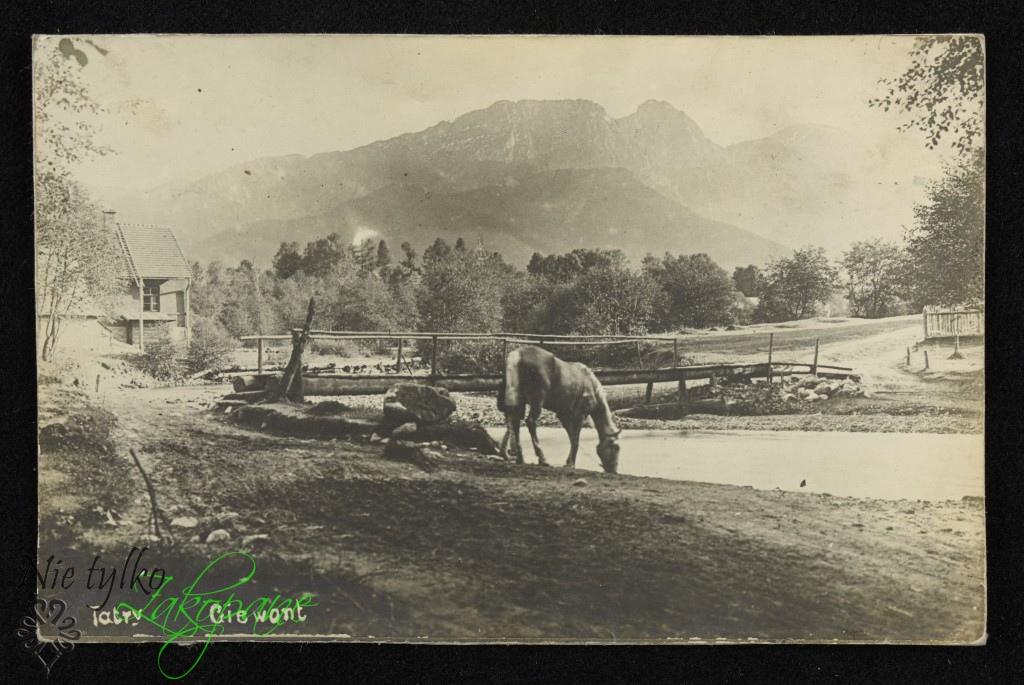 Giewont, 1901 rok