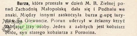 Gazeta Podhala,22.08.1937 r.