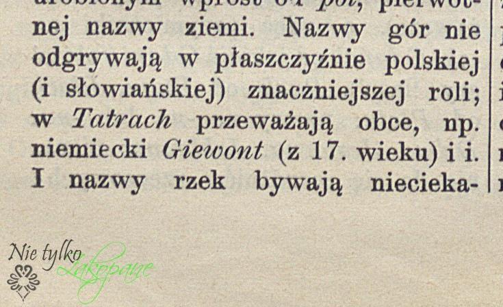 Słownik etymologiczny języka polskiego 1927 r.