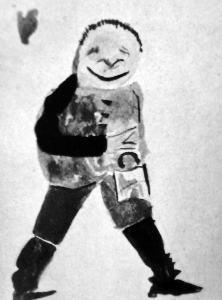 Chłopczyk, rys 5-letniego Stasia copy
