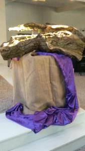 Hoeksteen 40 dagen liturgisch bloemstuk