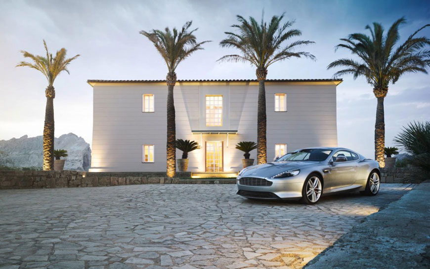 2013 Aston Martin DB9 (2)