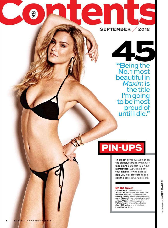 Bar Refaeli - Maxim Magazine (1)