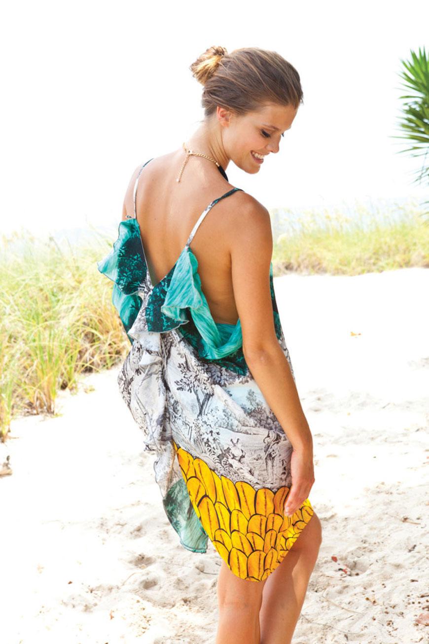 Nina Agdal - Sauvage Swimwear 2013 (5)