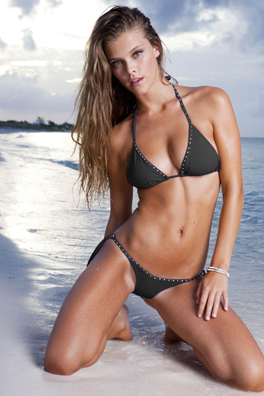 Nina Agdal - Sauvage Swimwear 2013  (1)