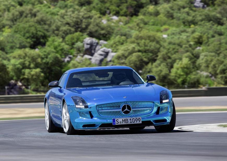 The Mercedes-Benz SLS Electric Drive (22)