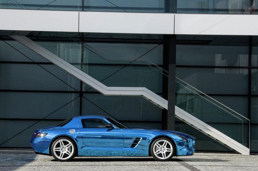The Mercedes-Benz SLS Electric Drive (19)