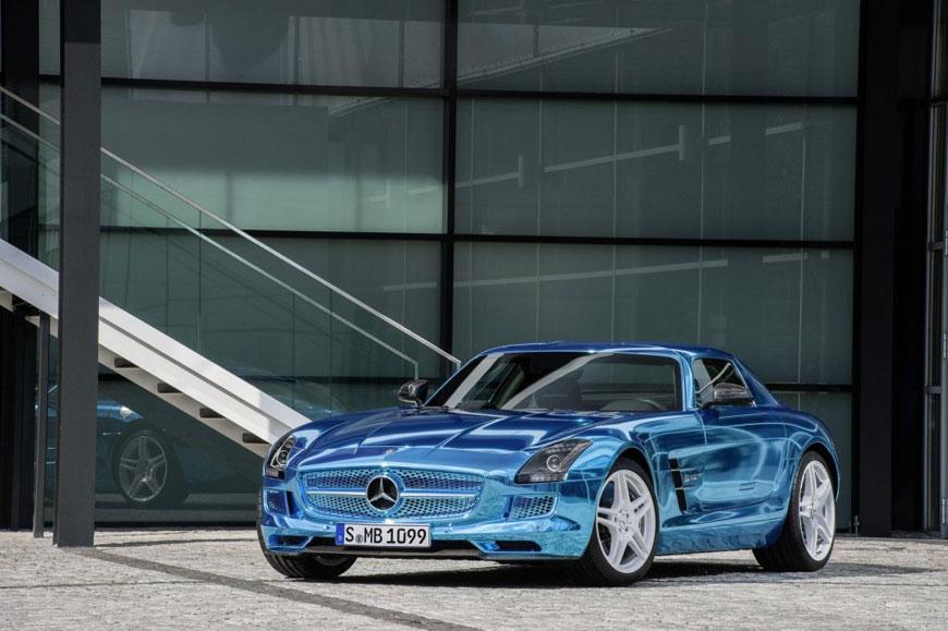 The Mercedes-Benz SLS Electric Drive (18)