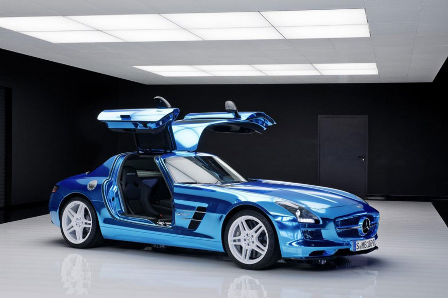 The Mercedes-Benz SLS Electric Drive (15)
