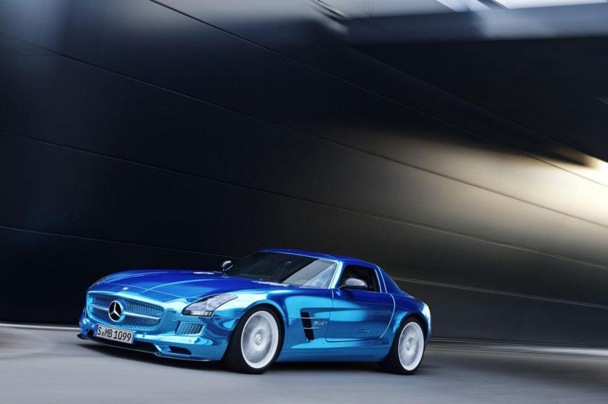 The Mercedes-Benz SLS Electric Drive (14)