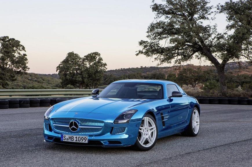 The Mercedes-Benz SLS Electric Drive (6)