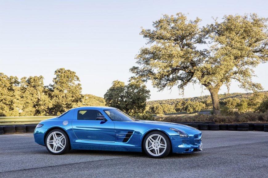 The Mercedes-Benz SLS Electric Drive (5)