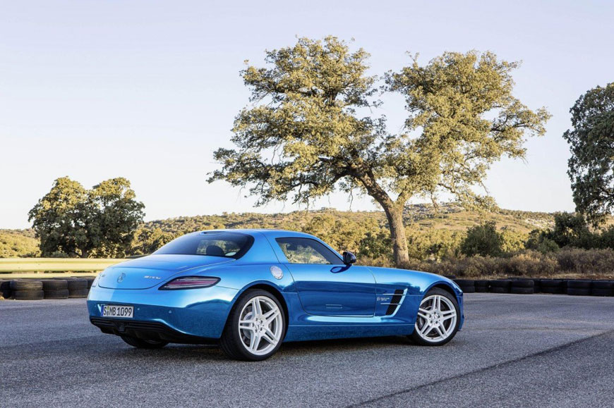 The Mercedes-Benz SLS Electric Drive (4)