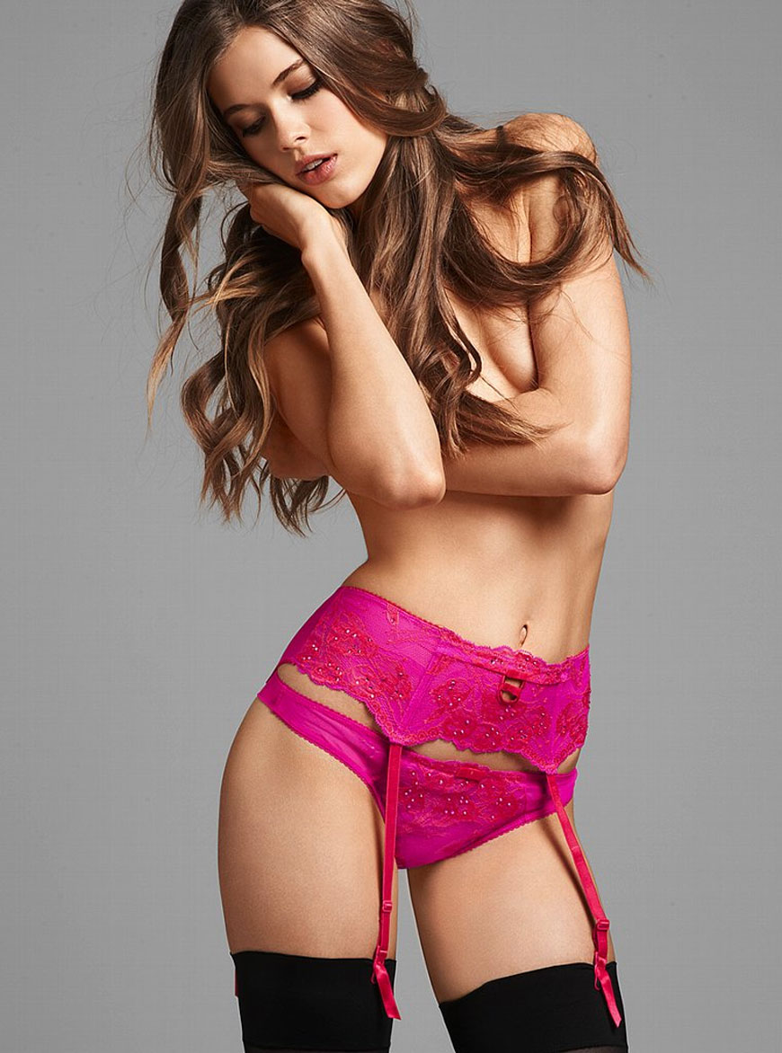 Victoria Lee voor Victoria Secret lingerie (4)