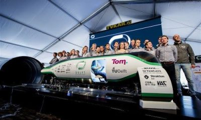 hyperloop TU delft
