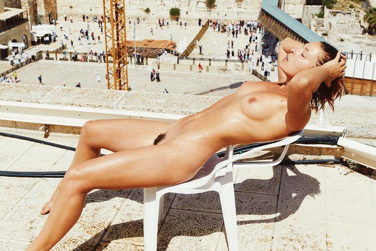 Marisa papen nude in Jeruzalem
