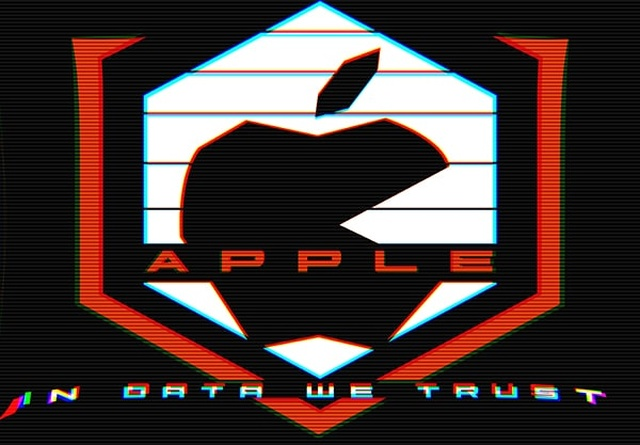Apple INC old logo