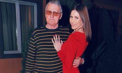 Milijana Bogdanovic (21) en haar verloofde Milojko Bozic