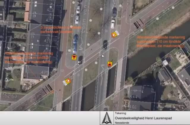 Aanpassingen oversteekplaatsen Nesselande
