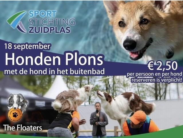 Ook standhouders aanwezig op hondenzwemdag
