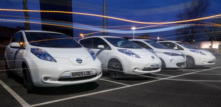 EV Line Up - Nissan 'Leafs' & Renault Zoe
