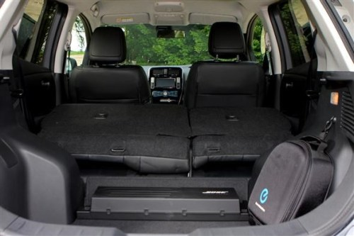 Nissan Leaf Boot & Subwoofer