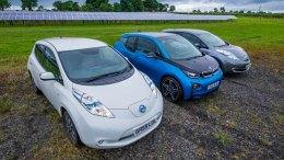 Lightsource Solar Farm - Electric Cars