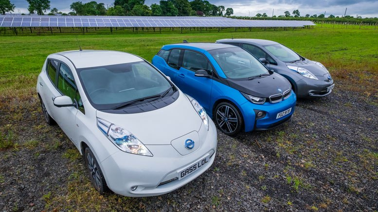 Lightsource Solar Farm - Electric Cars