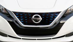 2018 Nissan Leaf nose