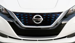 2018 Nissan Leaf nose