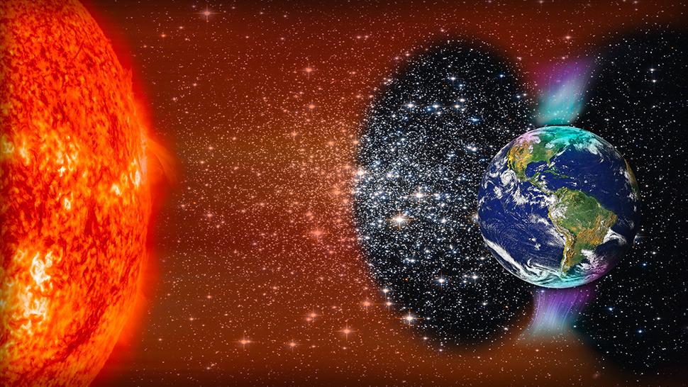 burza słoneczna 2021