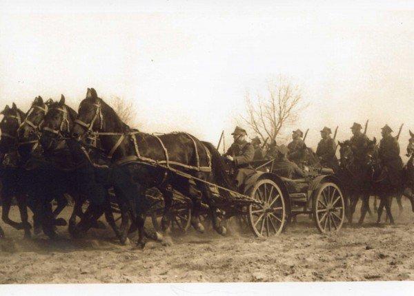 Lida, 28 kwietnia 1919 r. Polska kawaleria podczas wojny z bolszewikami