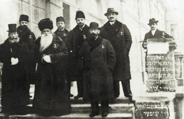 Posłowie żydowscy doSejmu Ustawodawczego w1919r.