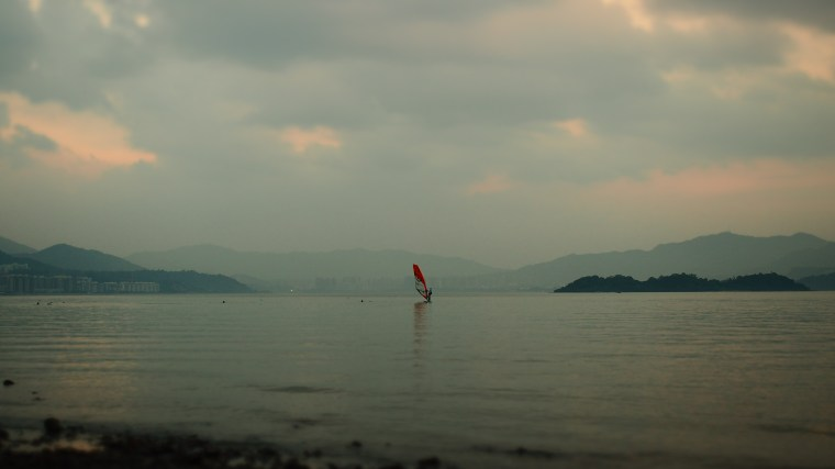Windsurfing - Ma On Shan