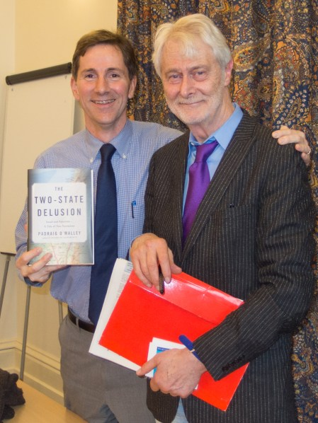 Allan LEONARD and Professor Padraig O'MALLEY, The Two-State Delusion: Israel and Palestine, Queen's University Belfast, Northern Ireland. @ISCTSJ @MoakleyChairUMB @NIFoundation