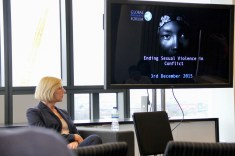 Ending Sexual Violence in Conflict event, Global Diplomatic Forum, London, England @DiplomaticForum (c) Global Diplomatic Forum
