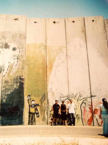 Youth at wall