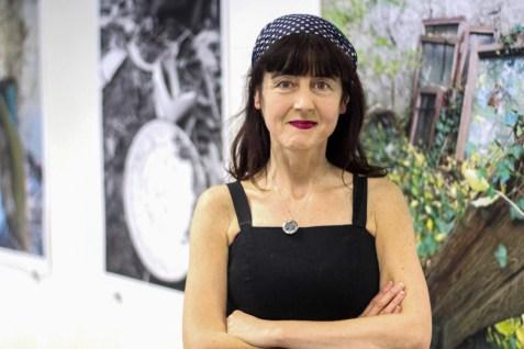 Visual artist Lise McGREEVY. (c) Mia VIDAMOUR